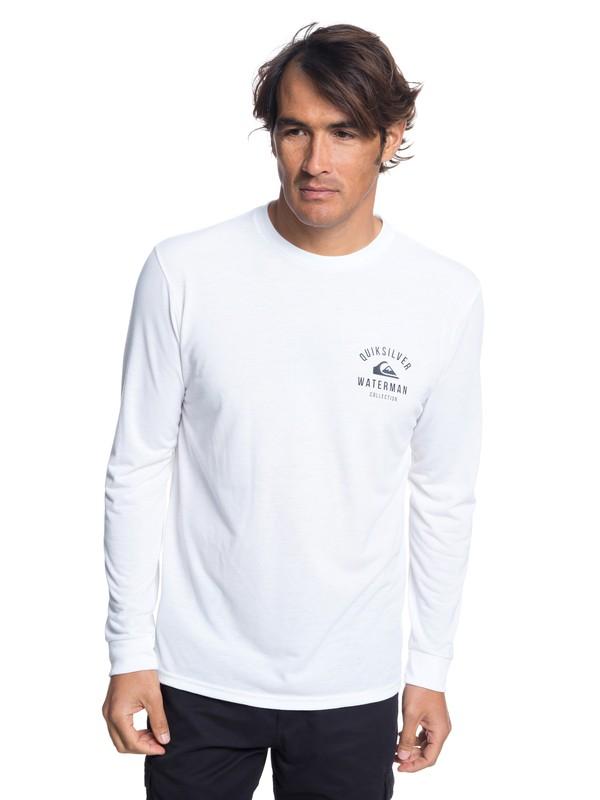 0 Camiseta Manga Larga El Mahe Blanco AQMZT03319 Quiksilver