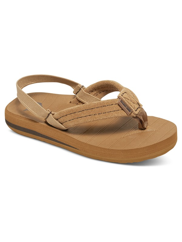 0 Boy's 2-7 Carver Suede Sandals  AQTL100003 Quiksilver
