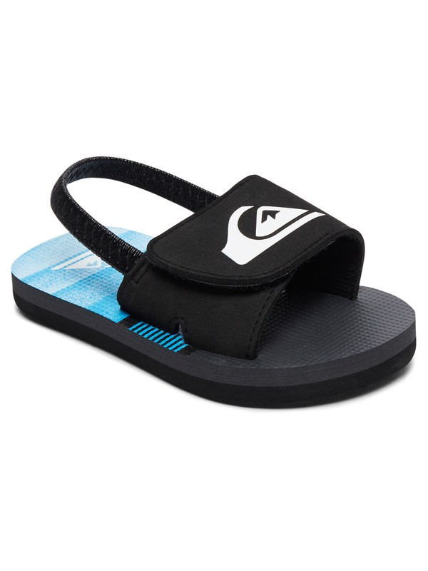 0 Molokai Layback Slide - Slider Sandals for Toddlers Black AQTL100005 Quiksilver