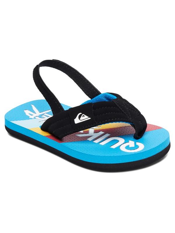 0 Toddlers Molokai Layback Sandals Black AQTL100056 Quiksilver