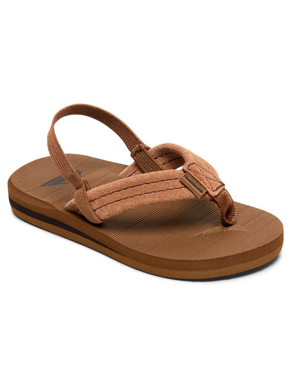 0 Carver Suede - Leather Sandals Beige AQTL100057 Quiksilver