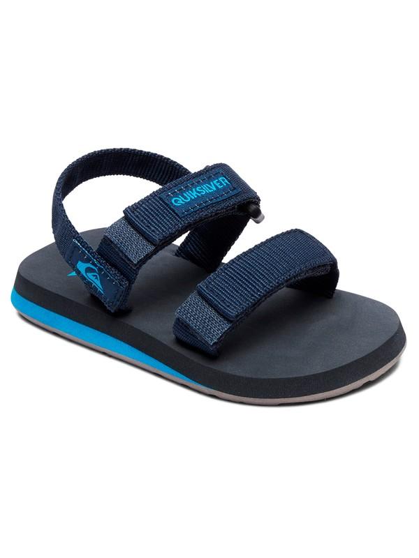 0 Boy's 2-7 Monkey Caged Sandals Blue AQTL100058 Quiksilver
