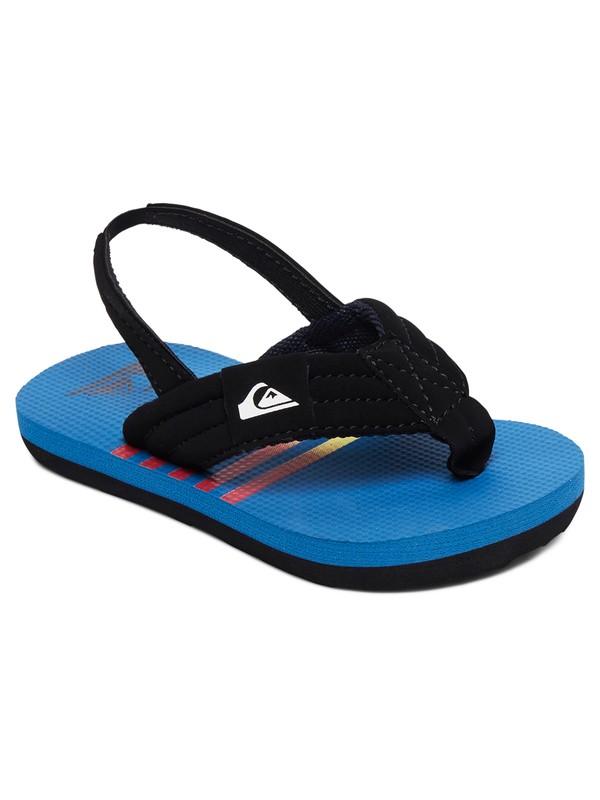 0 Boy's 2-7 Molokai Layback Backstrap Sandals Blue AQTL100059 Quiksilver