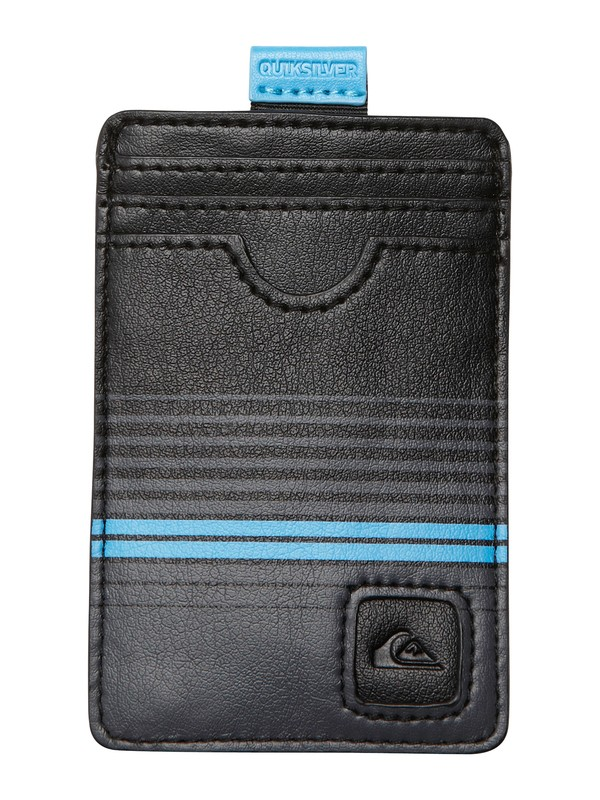 0 Pinhead Slim Card Holder Wallet  AQYAA00013 Quiksilver