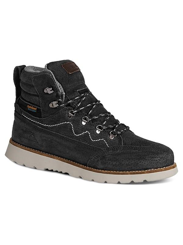 0 Acllas - Boots en Cuir Noir AQYB700017 Quiksilver