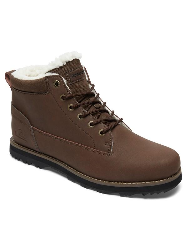 0 Mission V - Chaussures montantes pour Homme Marron AQYB700027 Quiksilver