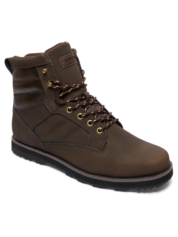 0 Bronk - Winter Boots Brown AQYB700031 Quiksilver