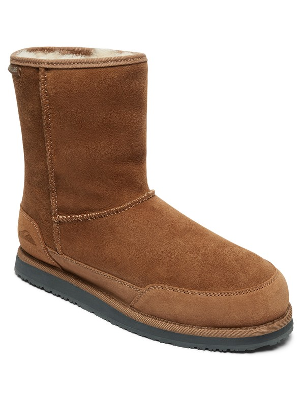 0 Abatt - Winter Boots for Men Brown AQYB700033 Quiksilver