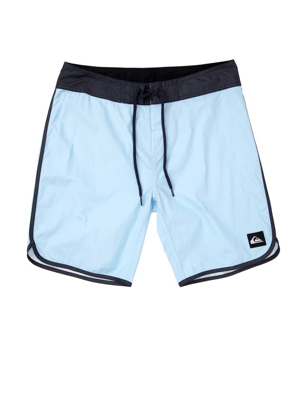 "0 OG Scallop Solid 19"" Boardshorts  AQYBS00159 Quiksilver"