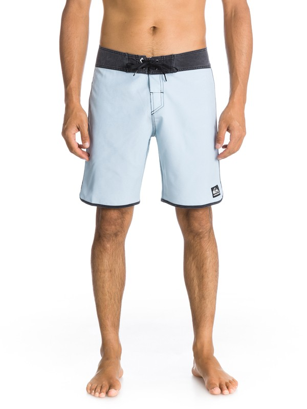 """0 OG Scallop Solid 19"""" Boardshorts  AQYBS00340 Quiksilver"""