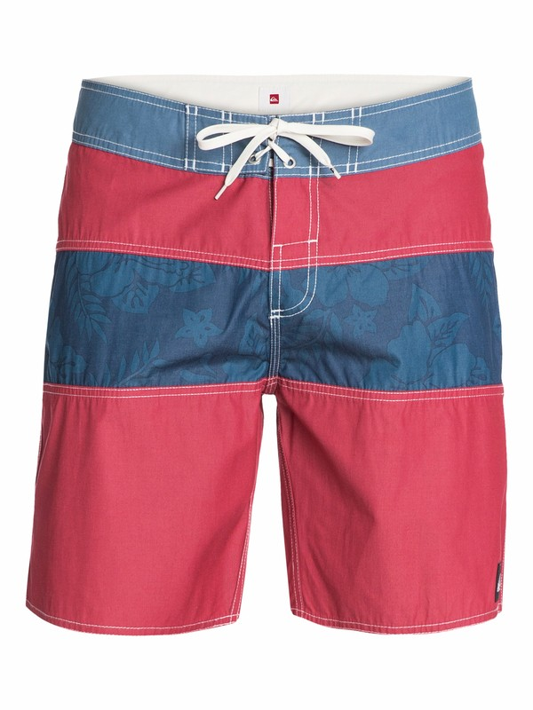 """0 Stripe Floral 18"""" Boardshorts  AQYBS03000 Quiksilver"""