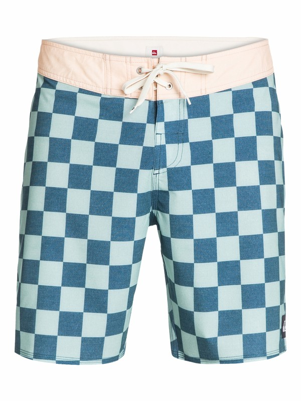 "0 Yoke Checker 18"" Boardshorts  AQYBS03002 Quiksilver"