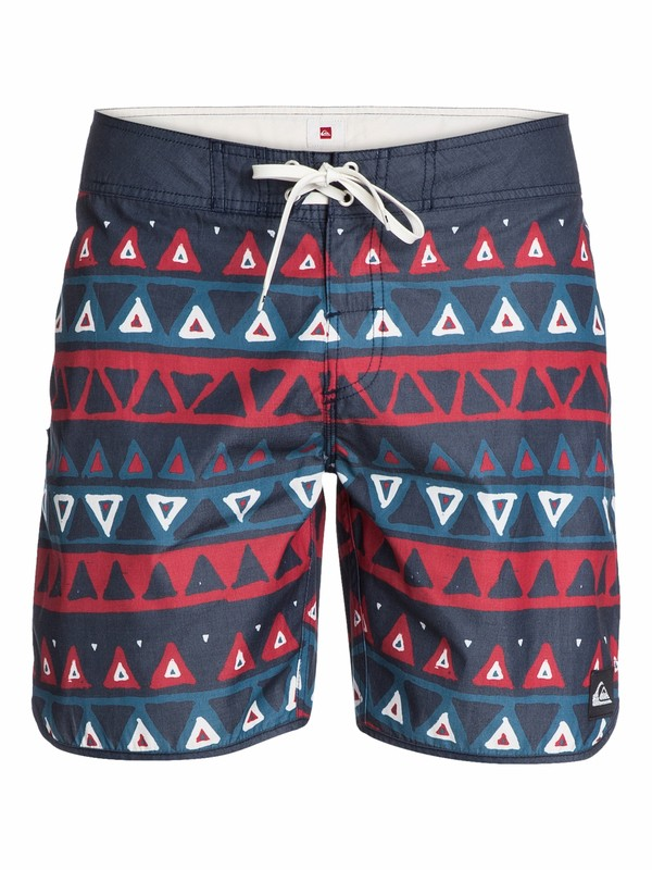 """0 Scallop Print 18"""" Boardshorts  AQYBS03003 Quiksilver"""