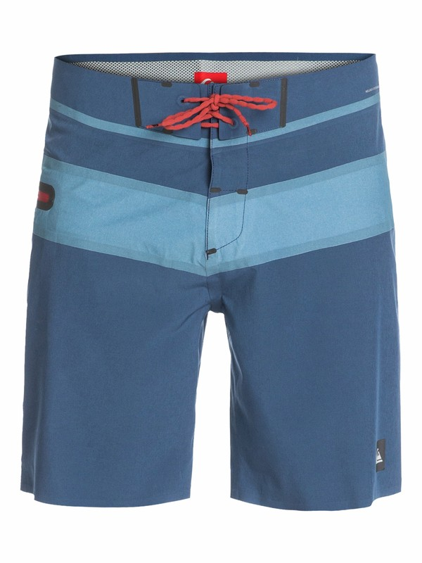 "0 AG47 Stripe Bonded 19"" Boardshorts  AQYBS03065 Quiksilver"