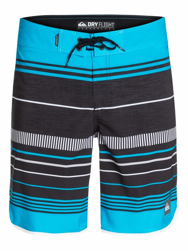 "0 AG47 Pacific Stripe 19"" Boardshorts  AQYBS03135 Quiksilver"