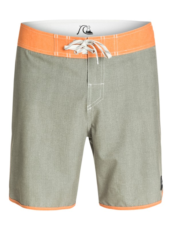 """0 Everyday Texture Scallop 18"""" Repreve Boardshorts  AQYBS03155 Quiksilver"""