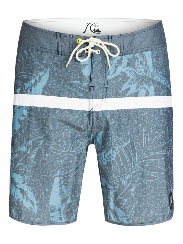 "0 Jungle Juice Scallop 18"" Boardshorts  AQYBS03156 Quiksilver"