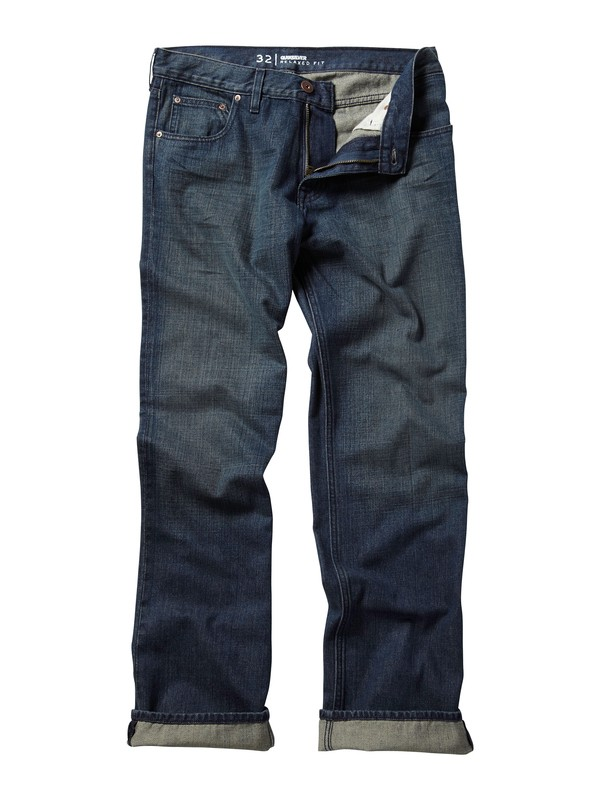 "0 Double Up Jeans, 32"" Inseam  AQYDP00024 Quiksilver"