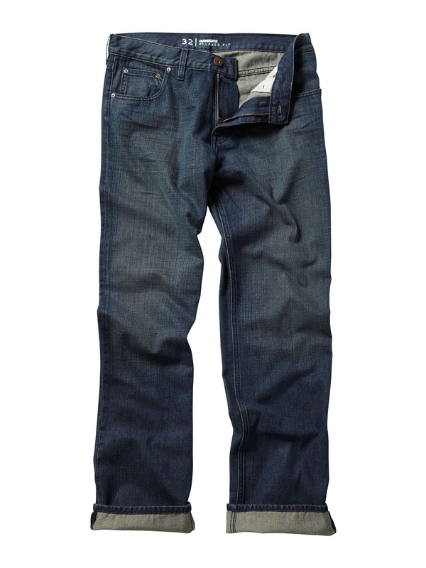"0 Double Up Jeans, 34"" Inseam  AQYDP00040 Quiksilver"