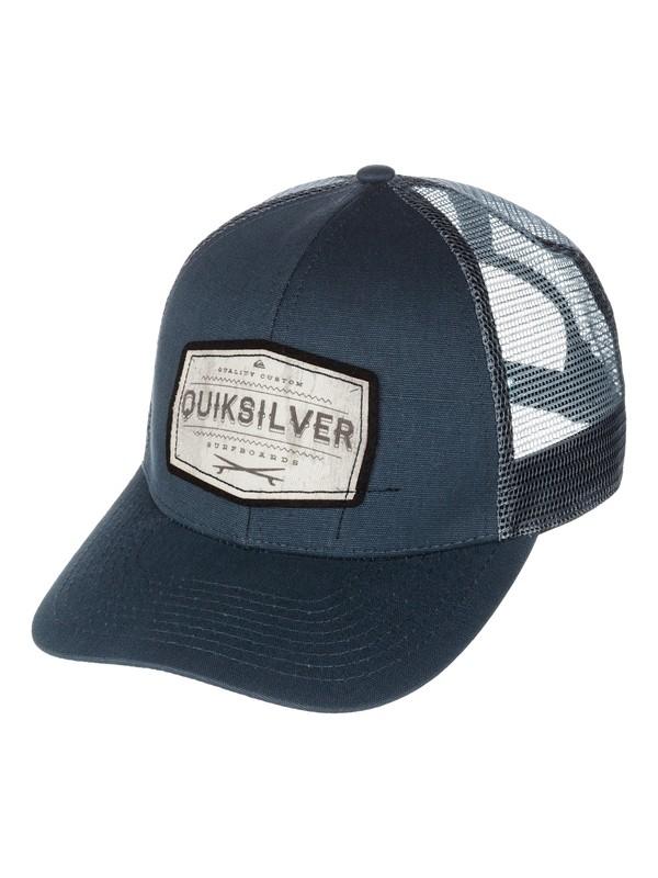 0 Weeks Trucker Hat  AQYHA00197 Quiksilver