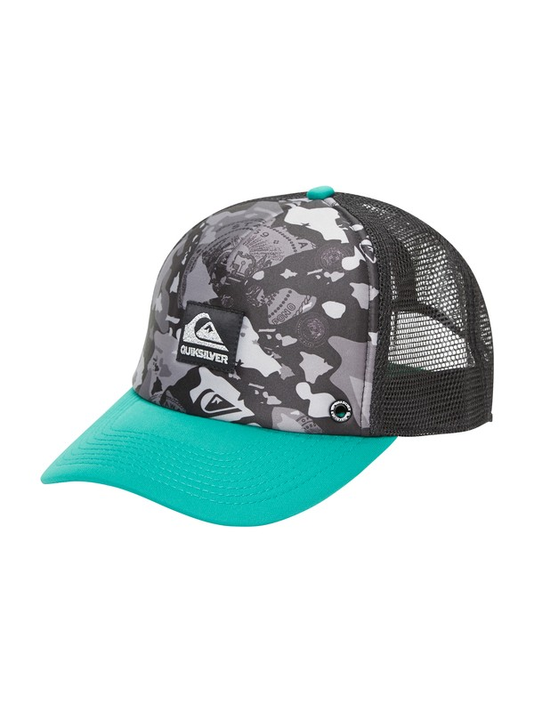 0 Third Trucker Hat  AQYHA00230 Quiksilver