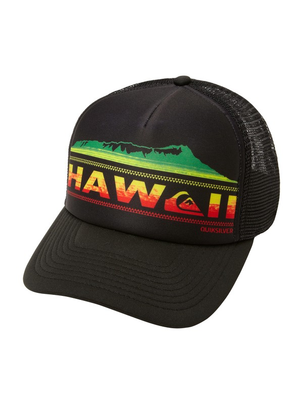 0 Manapua Trucker Hat  AQYHA00291 Quiksilver