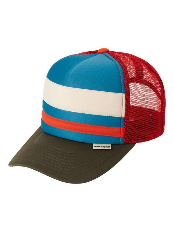 0 Soul Trucker Hat  AQYHA03011 Quiksilver
