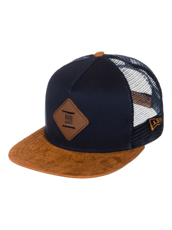 0 Gymnasium New Era Trucker Hat  AQYHA03093 Quiksilver