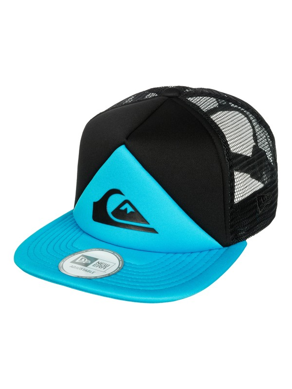 0 New Wave New Era Foam Trucker Cap  AQYHA03115 Quiksilver