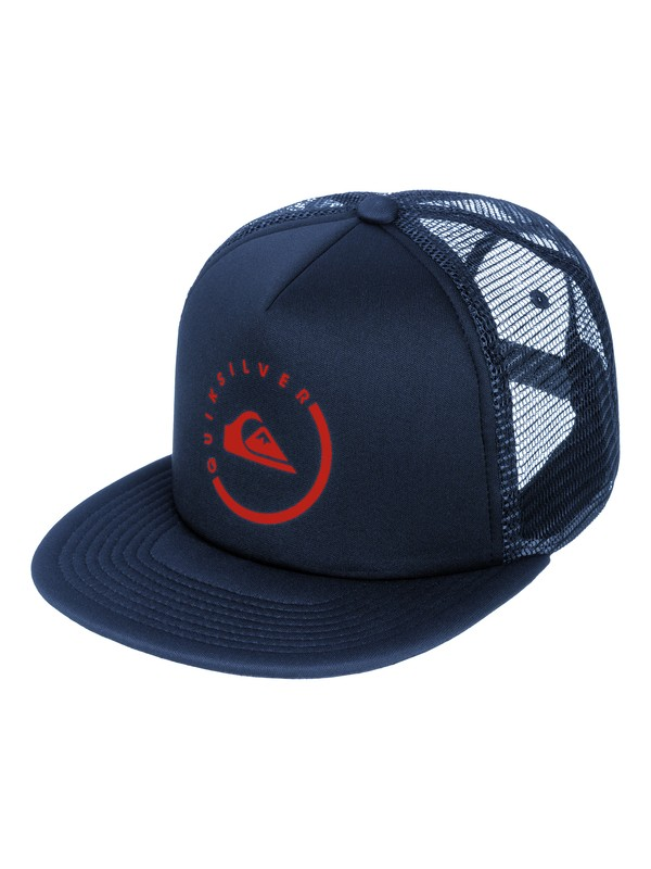 0 Everyday Eclipse Trucker Hat  AQYHA03120 Quiksilver