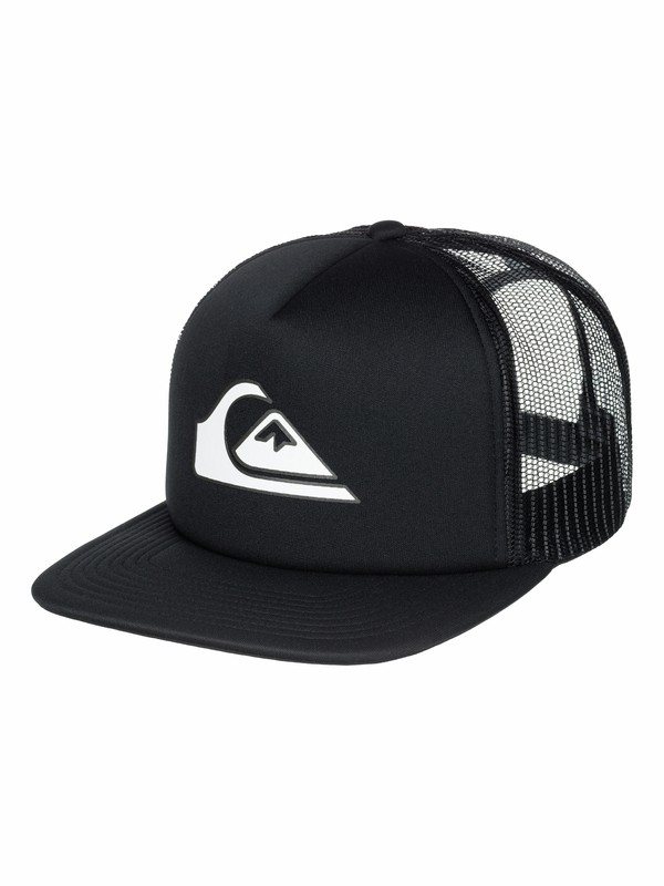 0 Snapper - 5-Panel Foam-Front Trucker Hat  AQYHA03206 Quiksilver