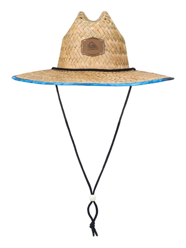 0 Outsider Straw Lifeguard Hat Blue AQYHA03218 Quiksilver