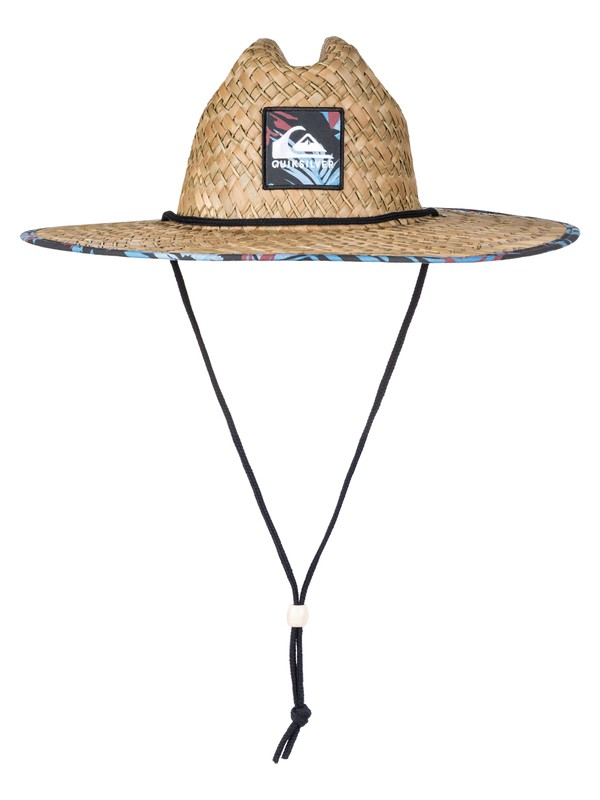 0 Outsider Straw Lifeguard Hat Black AQYHA03218 Quiksilver