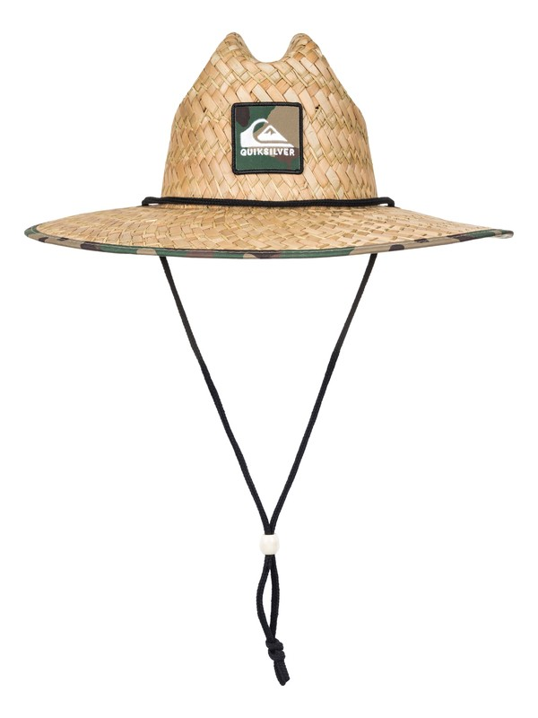 0 Outsider Straw Lifeguard Hat Black AQYHA03218 Quiksilver