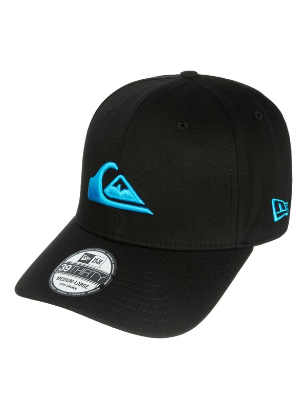 0 Mountain & Wave Black New Era Hat  AQYHA03222 Quiksilver
