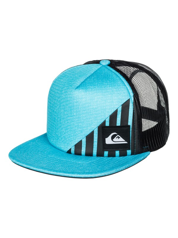 0 New Wave Comp Trucker Hat  AQYHA03287 Quiksilver