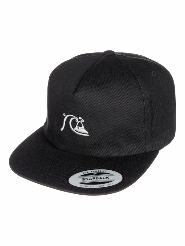 0 Gordy - Casquette 5 panel snapback  AQYHA03293 Quiksilver