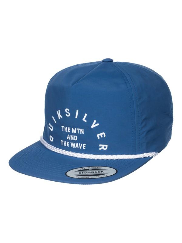 0 Blister Snapback Hat  AQYHA03301 Quiksilver