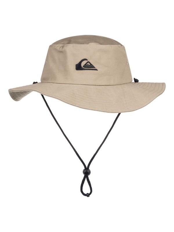 0 Bushmaster Bucket Hat Brown AQYHA03314 Quiksilver