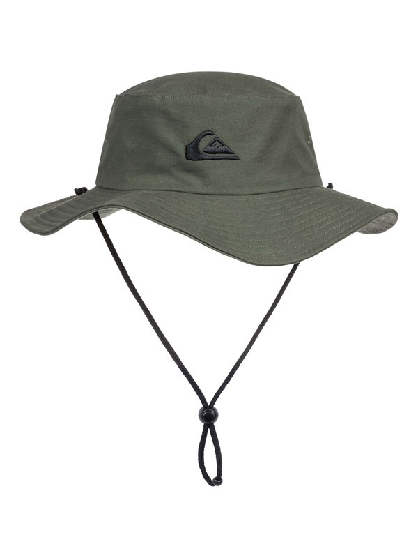 0 Bushmaster Bucket Hat Brown AQYHA03314 Quiksilver