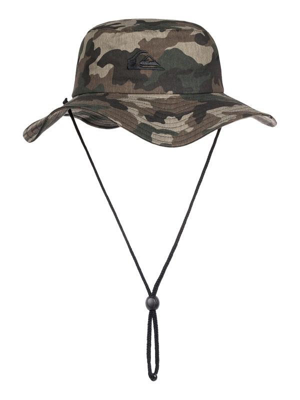0 Bushmaster Safari Hat Green AQYHA03314 Quiksilver