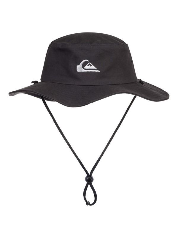0 Bushmaster Safari Hat Black AQYHA03314 Quiksilver