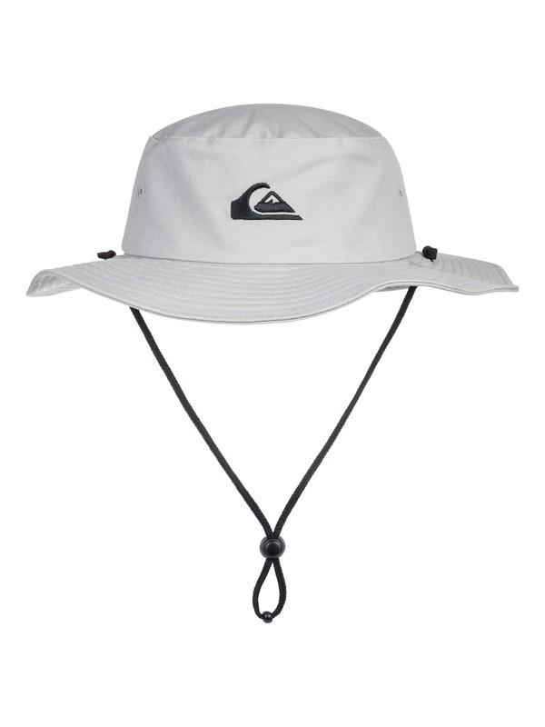 0 Bushmaster Safari Hat Grey AQYHA03314 Quiksilver