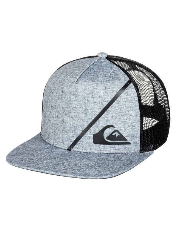 0 New Wave Comp Trucker Hat  AQYHA03336 Quiksilver