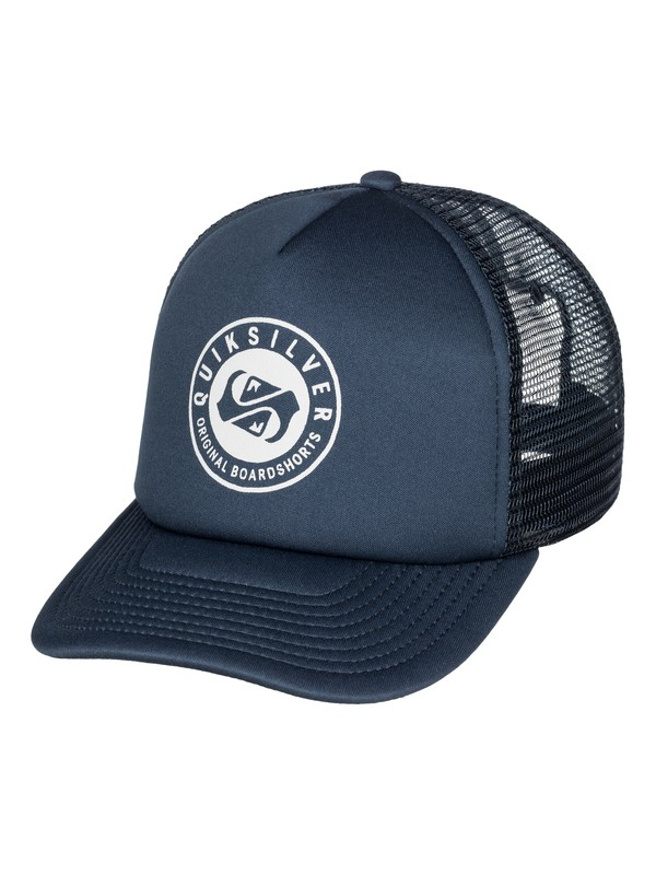 0 Everyday Eclipse Trucker Hat  AQYHA03339 Quiksilver
