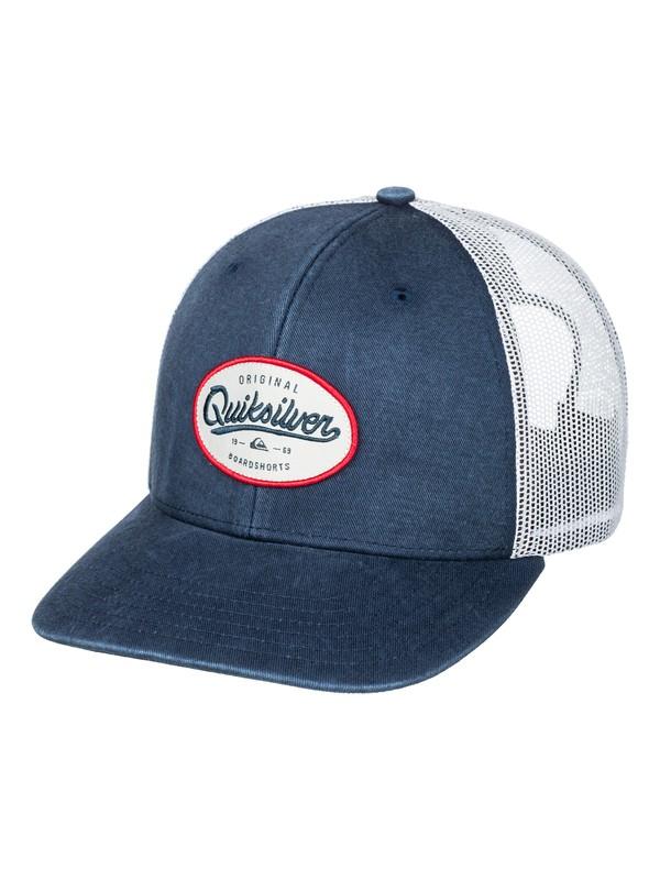 0 Rickter Trucker Hat  AQYHA03347 Quiksilver