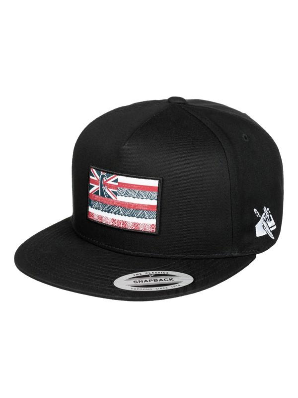 0 Eddie Flag Trucker Hat  AQYHA03353 Quiksilver