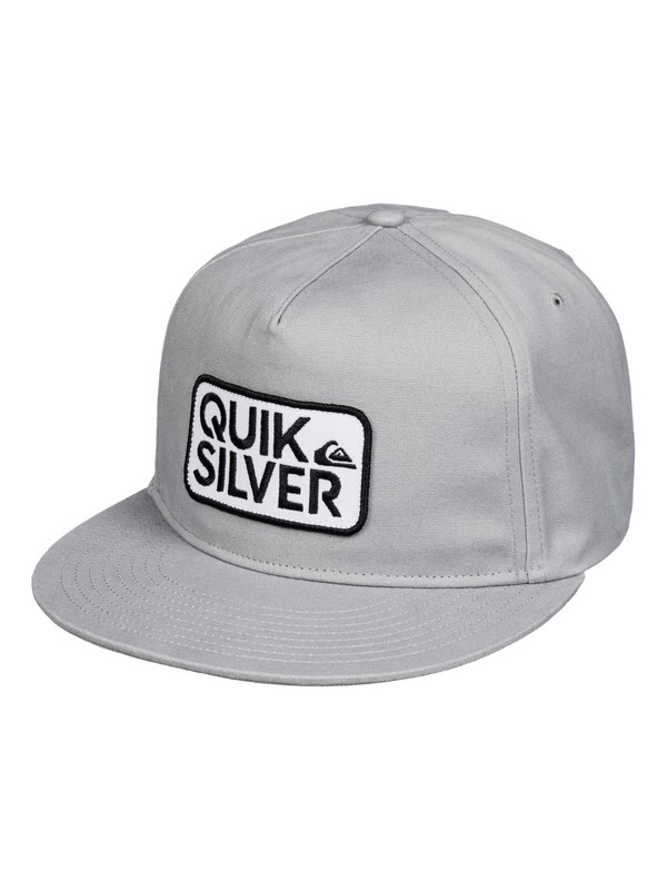 0 Barstay Snapback Hat Grey AQYHA03386 Quiksilver