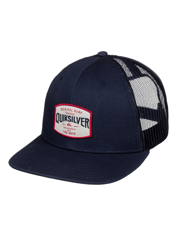 0 Days Trucker Hat  AQYHA03398 Quiksilver