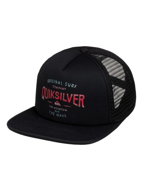 0 Sanders Trucker Hat  AQYHA03401 Quiksilver
